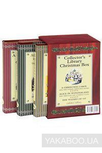 Фото - Collector's Library Christmas Box. Dickens. A Christmas Carol. Carroll. Alice in Wonderland. Baum. The Wizard