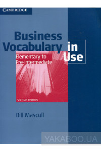 Фото - Business Vocabulary in Use: Elementary to Pre-intermediate. Book with answers