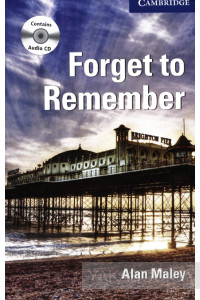 Фото - Forget to Remember (book with audio CDs). Level 5