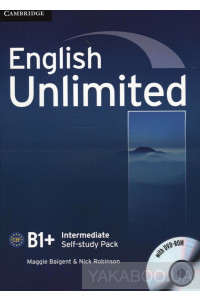 Фото - English Unlimited Intermediate. Self-study Pack (Workbook with DVD-ROM)