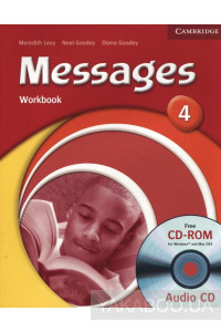 Фото - Messages 4. Workbook (With Audio CD)