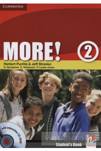Фото - More! Level 2. Student's Book (+ Interactive CD-ROM)