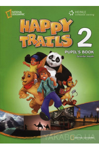 Фото - Happy Trails 2. Pupil's Book (with CD)