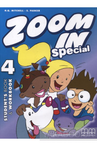 Фото - Zoom in 4. Special. Student's Book & Workbook (+ CD-ROM)