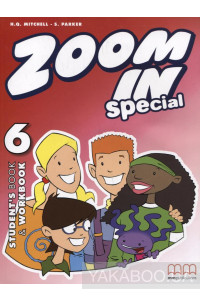 Фото - Zoom in 6. Special. Student's Book & Workbook (+ CD-ROM)
