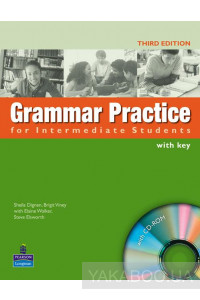 Фото - Grammar Practice Intermediate Book with Key (+ CD-ROM)
