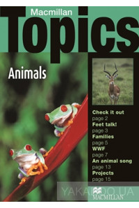 Фото - Macmillan Topics Beginner Plus: Animals