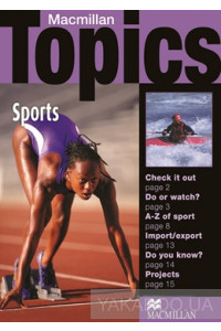 Фото - Macmillan Topics Beginner Plus: Sports