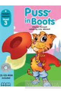 Фото - Puss in Boots. Level 3. Student's Book (+CD)