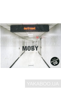 Фото - Moby: Destroyed (CD+Hardcover Photography Book) (Limited) (Import)