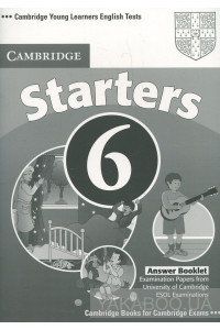 Фото - Cambridge Young Learners English Tests 6 Starters Answer Booklet