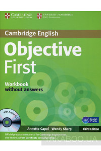 Фото - Objective First Workbook Without Answers (+ CD)