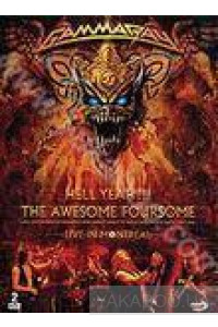 Фото - Gamma Ray: Hell Yeah!!! The Awesome Foursome. Live in Montreal (2 DVD)