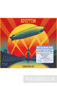 Фото - Led Zeppelin: Celebration Day (2 CD+ Blu-Ray+DVD PAL Version) (Import)