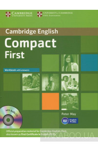 Фото - Compact First Workbook with answers (+ CD)
