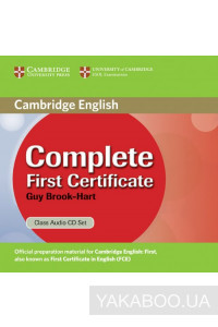 Фото - Complete First Certificate Class Audio CD Set (2 CD)