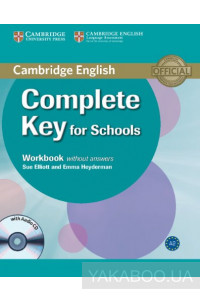 Фото - Complete Key for Schools Workbook without Answers with Audio CD