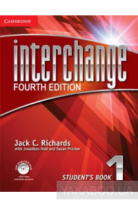 Фото - Interchange Level 1 Student's Book with Self-study DVD-ROM