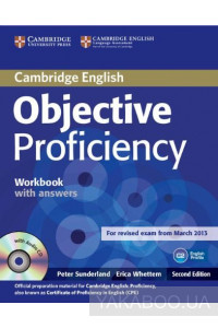 Фото - Objective Proficiency Workbook without Answers with Audio CD
