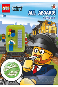 Фото - Lego City: All Aboard! Activity Book with Lego Min
