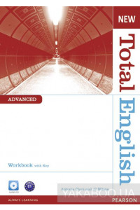 Фото - New Total English Advanced Workbook (with Key) and Audio CD