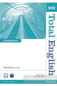 Фото - New Total English Elementary Workbook (with Key) and Audio CD