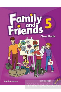 Фото - Family and Friends 5: Class Book and MultiROM Pack
