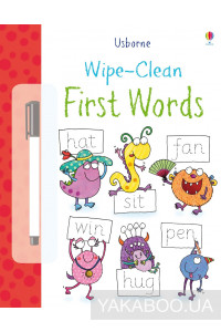Фото - Wipe Clean First Words