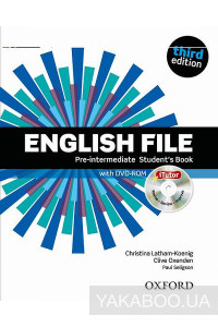Фото - English File. Pre-Intermediate. Student's Book with Itutor