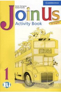 Фото - Join Us for English. Activity book. Level 1