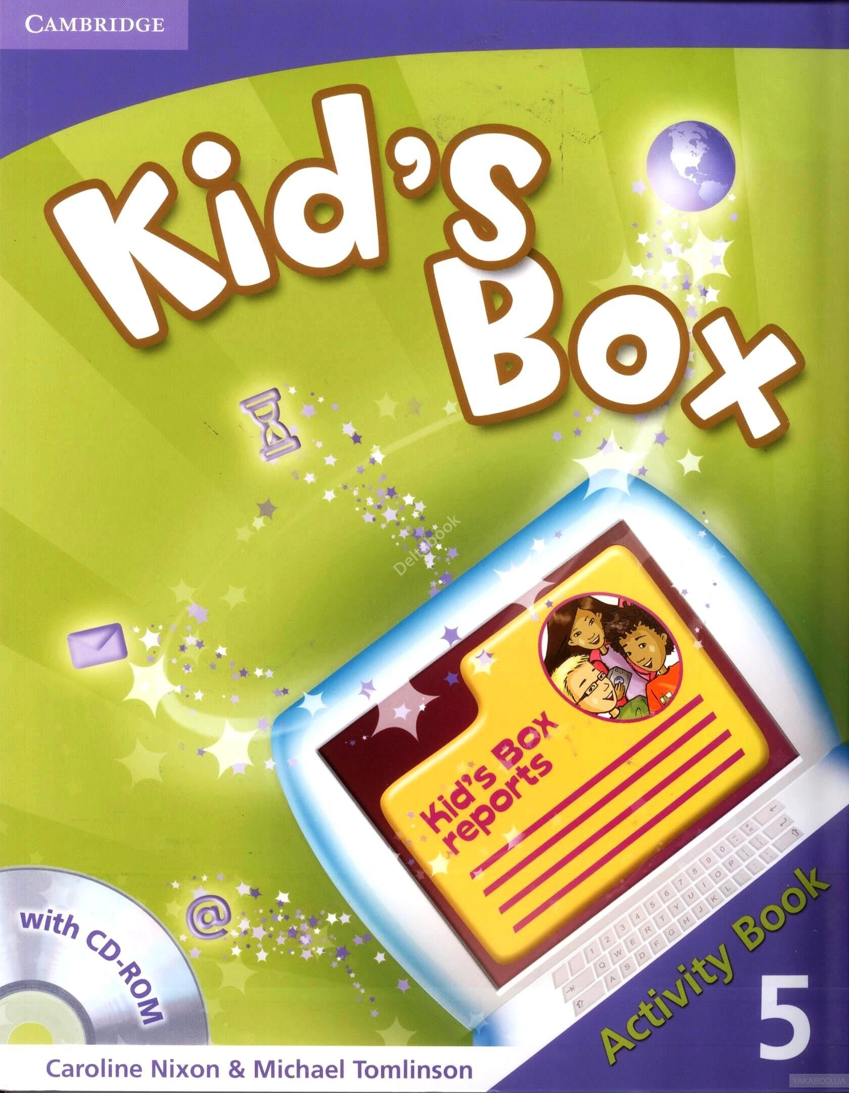 Kid&# 039;s Box Level 5 Activity Book (+CD)