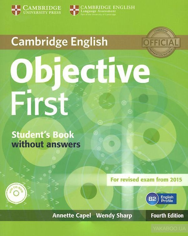 Objective first: student's book without answers (+ cd-rom)