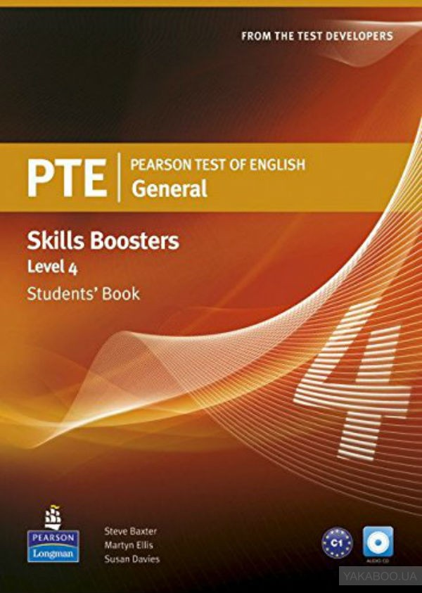 Pearson Test of English (PTE) General Skills Booster Level 4 Student's Book