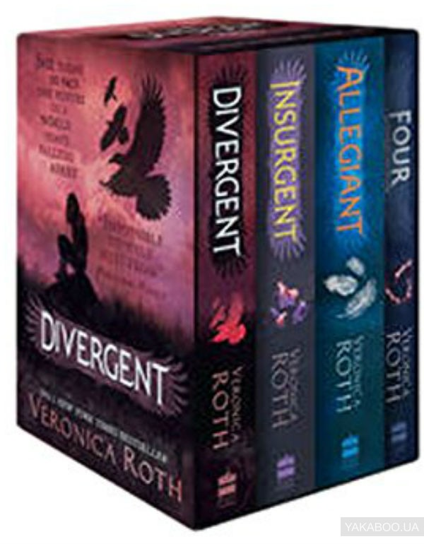 Купить Divergent Series Boxed Set (Books 1-4), HarperCollins Publishers, Вероника Рот, 978-0-0081-7550-4