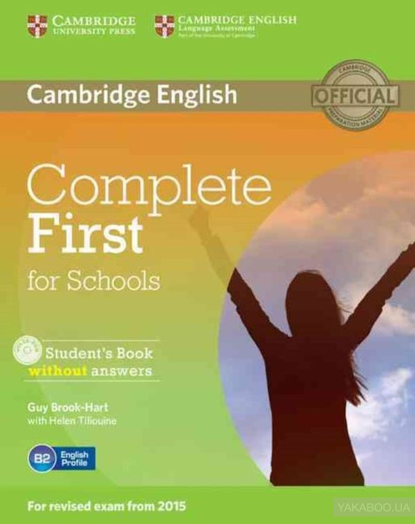 Complete First for Schools Students Book without Answers (+ CD-ROM)