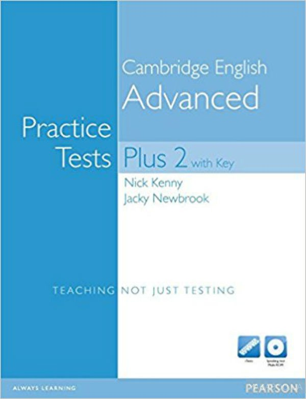 Practice tests plus cae 2 with answer key & cd-rom