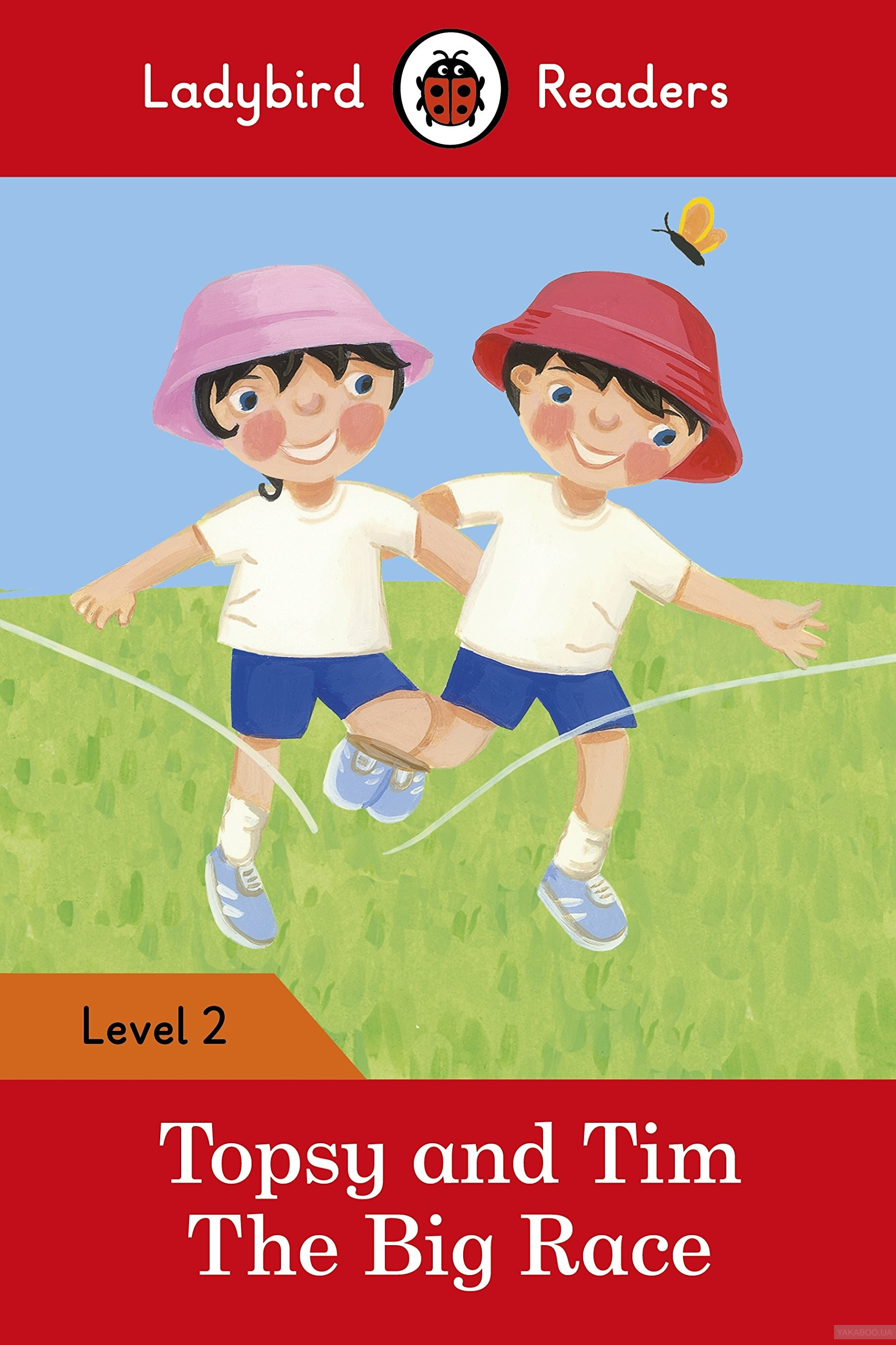 Ladybird readers. level 2. topsy and tim: the big race