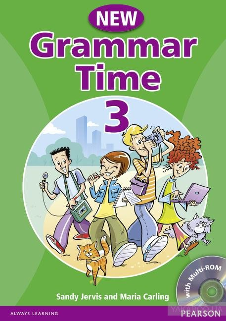Grammar time. level 3. students' book (+ cd)