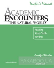 Academic encounters. the natural