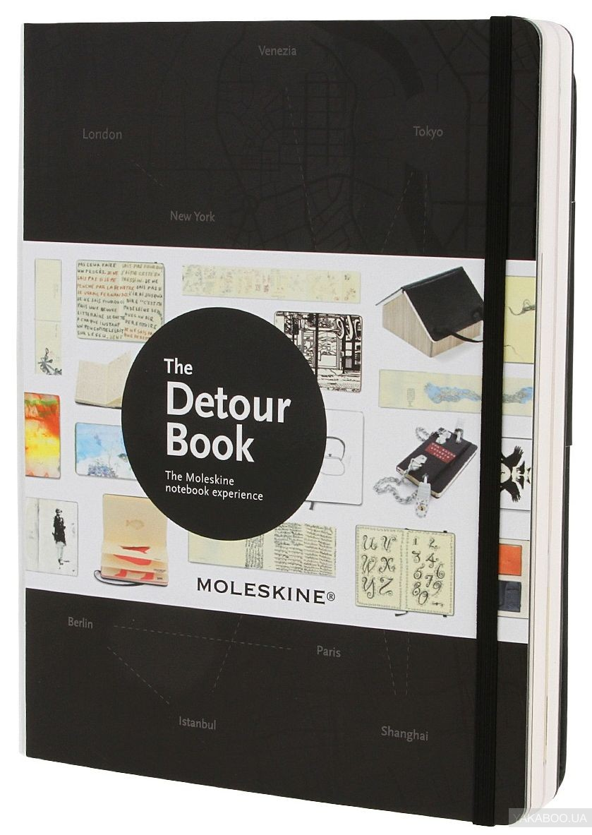 The Detour Book: The Moleskine Notebook Experience