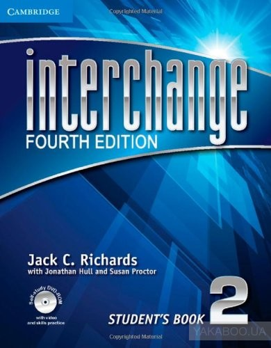 Interchange Level 2 Student&# 039;s Book with Self-study DVD-ROM