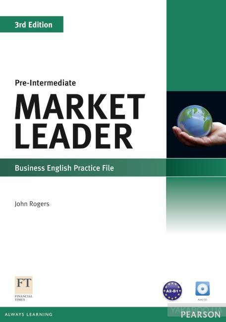 Market Leader, Pre-Intermediate: Business English Practice File (With CD)