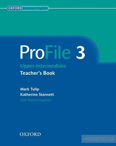Profile 3: teacher's book