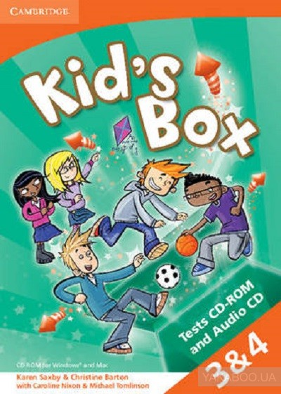 Kids box 3-4 tests cd-rom and audio cd