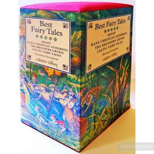 Купить Best Fairy Tales Boxed Set, CRW Publishing Limited, Ганс Христиан Андерсен, Братья Гримм, Эзоп, 9781907360404