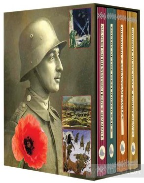Купить First World War. 4-Book Boxed Set, CRW Publishing Limited, Эрих Мария Ремарк, Роберт Грейвс, Себастьян Фолкс, 9781909621084