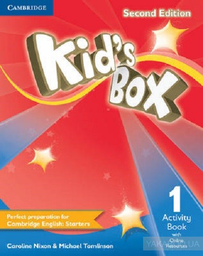 Kid's box level 1 activity book with online