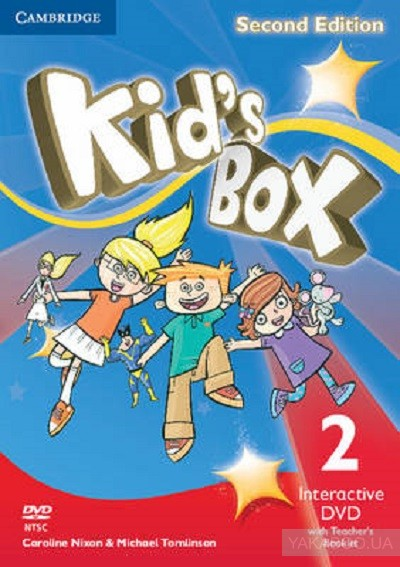 Kid&# 039;s Box Level 2 Interactive DVD (NTSC) with Teacher&# 039;s Booklet: Level 2