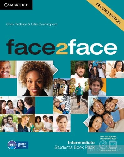 face2face Intermediate Student&# 039;s Book with Online Workbook Pack (+ DVD-ROM)