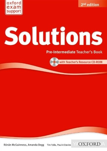 Solutions: Pre-Intermediate: Teacher&# 039;s Book and CD-ROM Pack